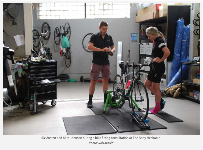 Bikefitting at The Body Mechanic