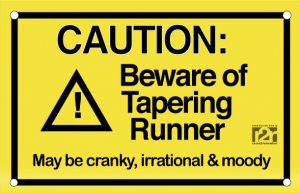Get your taper right or risk having a bad race