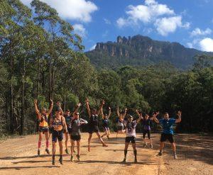 Ultra Trail Australia on course training runs
