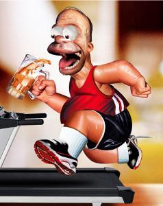 13 Beers = Overuse Injury!