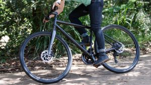 Try riding flat pedals to improve the efficiency of your pedal stroke