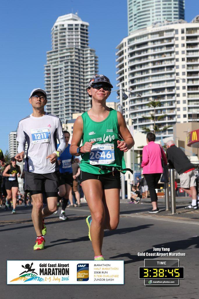 Juny Yang Gold Coast Marathon