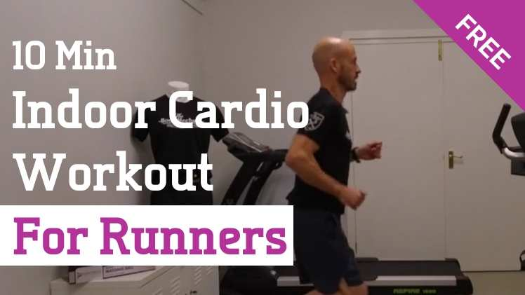 10 min indoor cardio workout for runners